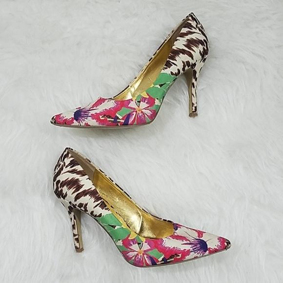 Nine West Shoes | Floral Pumps | Poshma