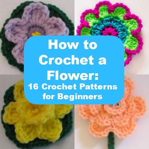 Flower Crochet Pattern For Beginners