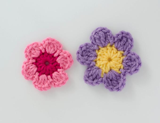 Easy Crochet Flower Pattern - Crochet 365 Knit T