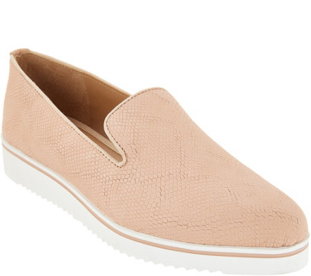 """""""As Is"""" Franco Sarto Leather Slip-On Shoes- Fabrina — QVC.c"""