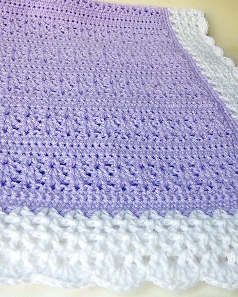 25 Baby Blanket Crochet Patterns - Dabbles & Babbl