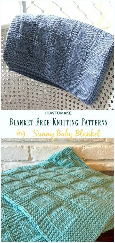 Free Baby Blanket Knitting Patterns