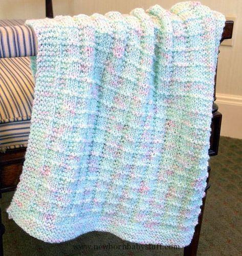 Baby Knitting Patterns Textured - free baby blanket knitting .