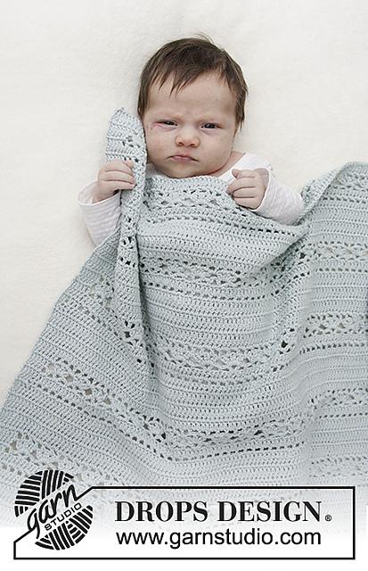 Sleepy Times Lace Baby Blanket Crochet Pattern Free ⋆ Free Baby .