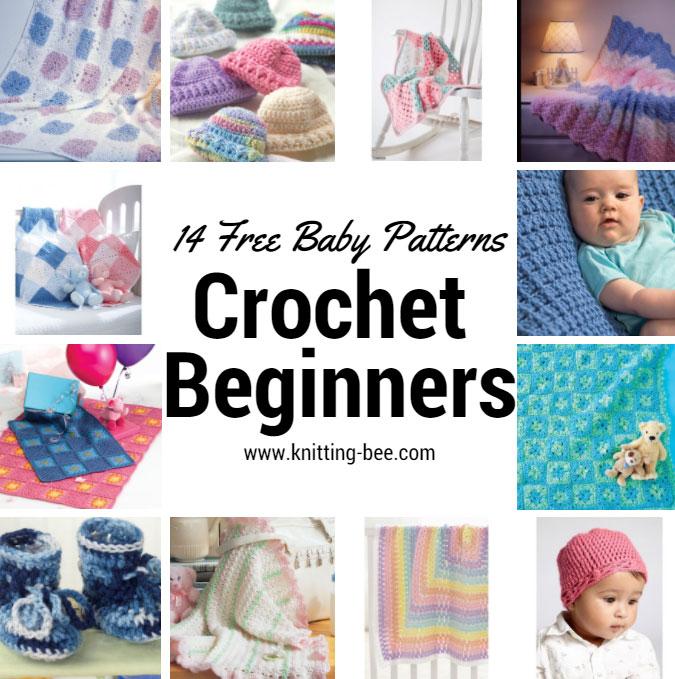 14 Free Baby Crochet Patterns for Beginne