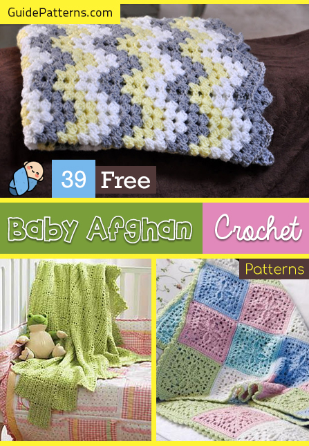 39 Free Baby Afghan Crochet Patterns | Guide Patter
