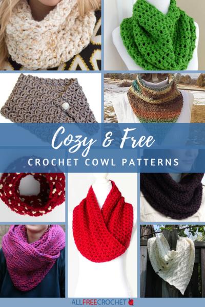 18 Cozy & Free Crochet Cowl Patterns | AllFreeCrochet.c