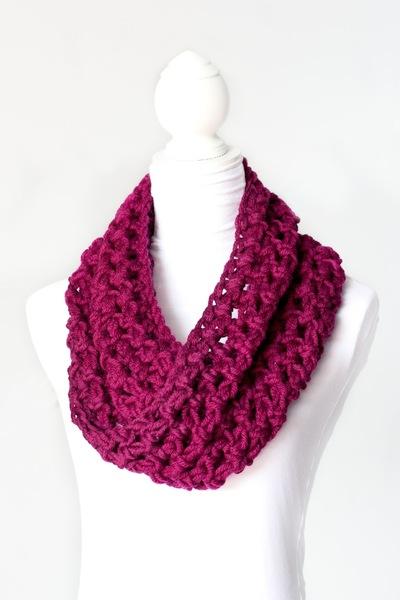 Chunky Crochet Cowl | AllFreeCrochet.c