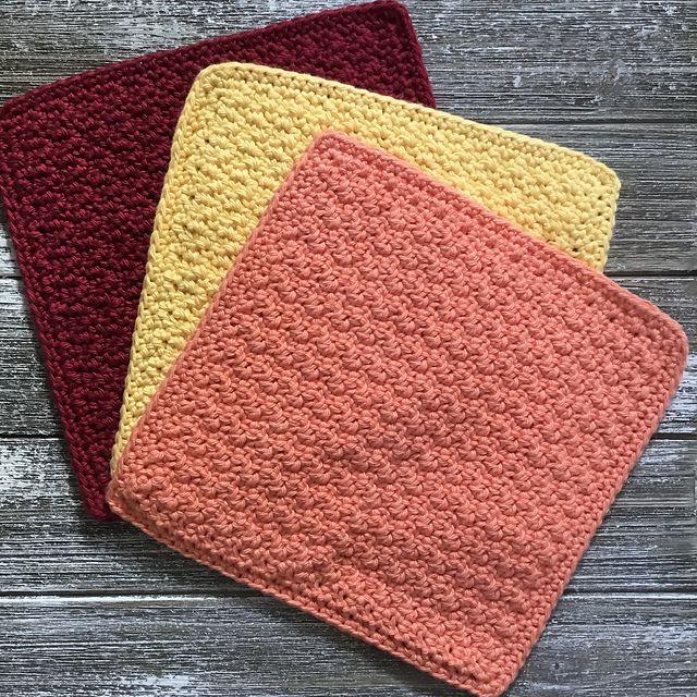 15 Crochet Dishcloth Patter