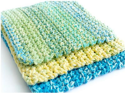 23 Free Crochet Dishcloth Patterns for Beginners | FaveCrafts.c