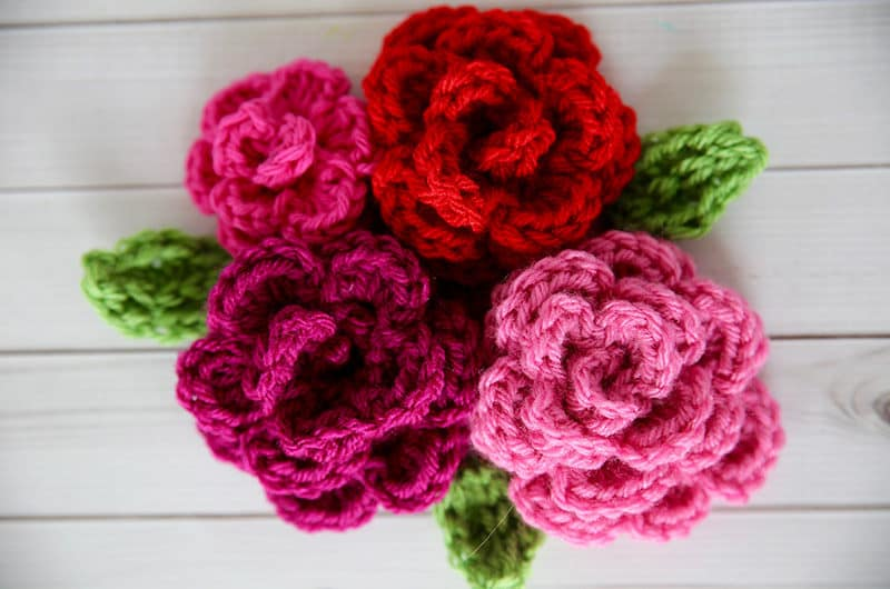 10 Beautiful Crochet Flowers To Make | Skip To My L