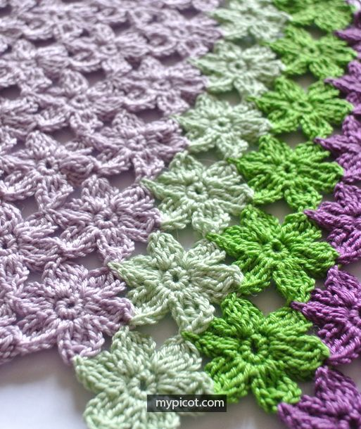 Inline Crochet Flower Stitch Free Patterns | Crochet flower .