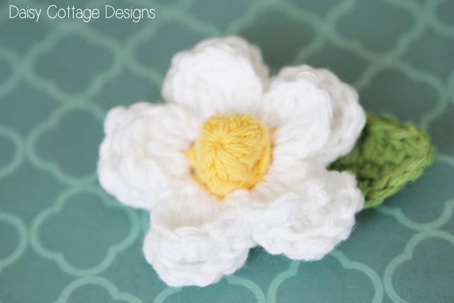 Daisy Crochet Flower Pattern - Daisy Cottage Desig