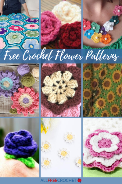 72 Free Crochet Flower Patterns | AllFreeCrochet.c