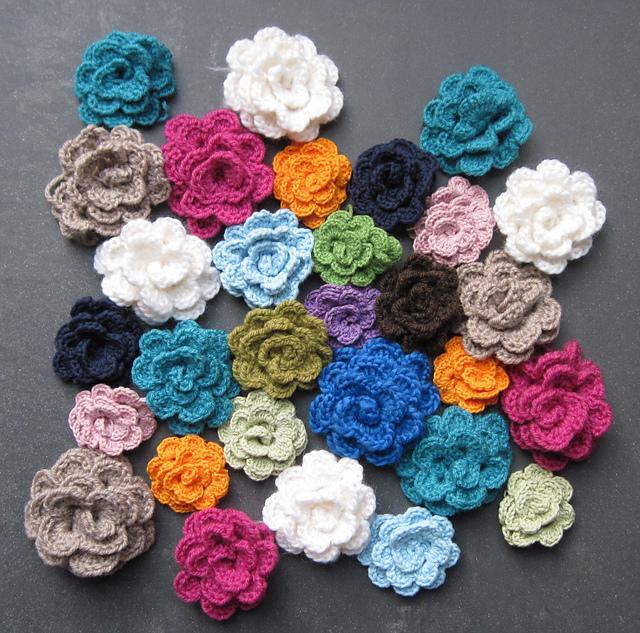 Ravelry: 10 minute crochet flower pattern by Boom