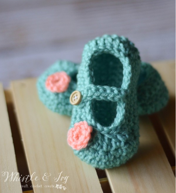 25 Cutest Free Crochet Baby Booties Patter