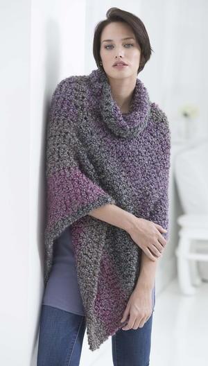 Crochet Poncho Patterns | AllFreeCrochet.c