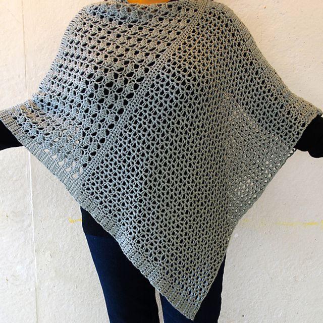 21 Free Crochet Poncho Patter