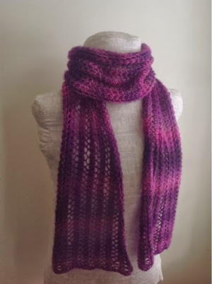 Knit Scarf Patterns | AllFreeKnitting.c