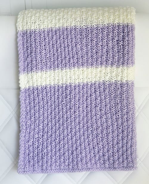 26 Free Baby Blanket Knitting Patterns - Ideal