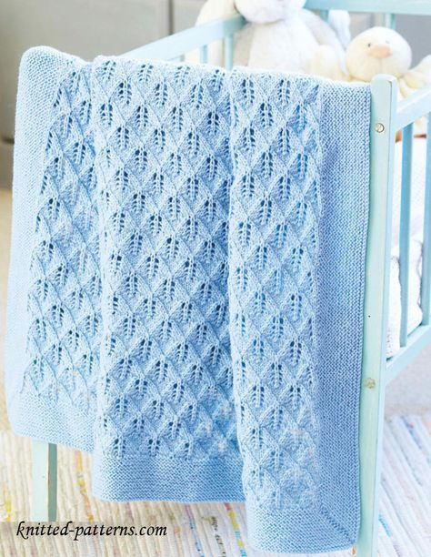 8 Super Cute Knit Baby Blanket Patterns | Free baby blanket patter