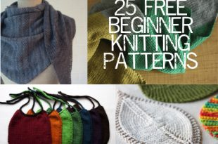 25 Free Beginner Knitting Patterns — Painting Lili