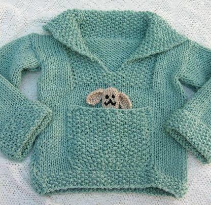 Free knitting pattern: children's sweater | Baby sweater knitting .