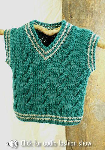 Free Knitting Pattern - Toddler & Children's Clothes: Keene .