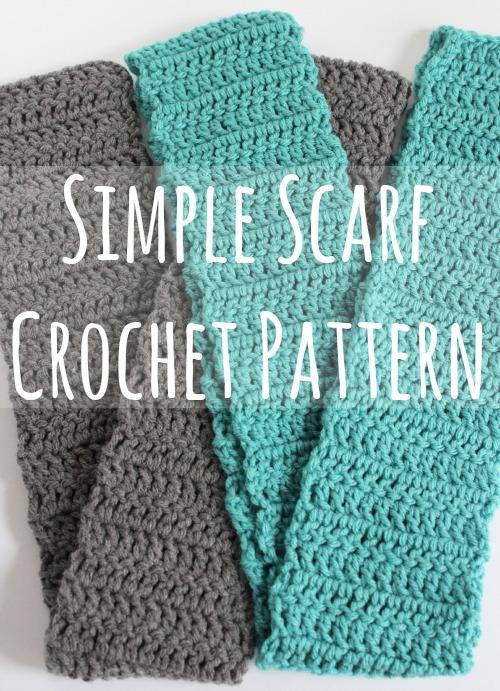 Simple Scarf Crochet Pattern – Cute DIY Projec