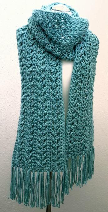 30 Crochet Scarf Patterns - Dabbles & Babbl
