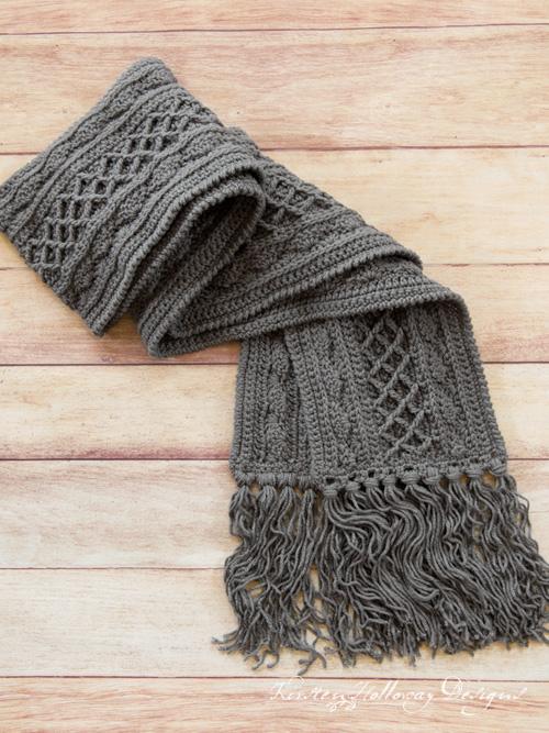 Crochet Super Scarf: Free Pattern - Kirsten Holloway Desig