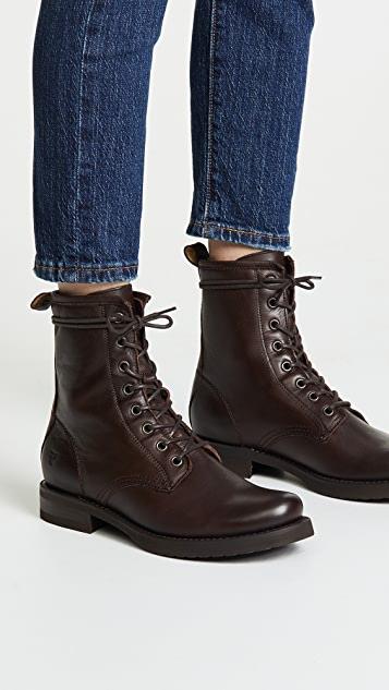 Frye Veronica Combat Boots | SHOPB