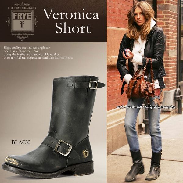 Frye Women's VERONICA SHORT BLACK Style No 76509 - ALL DESIGNERS .