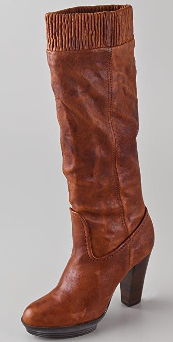 Frye Mimi Scrunch Platform Boots | SHOPB