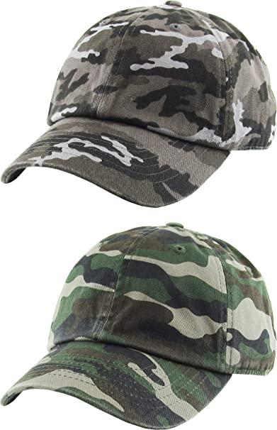 Amazon.com: H-100kids-2-L840633 Kids Cap 2-Pack: camo Black & camo .