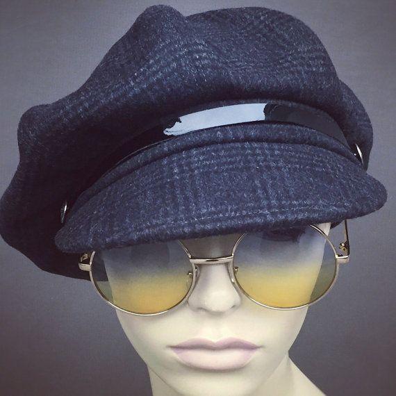 Newsboy Oversized Bakerboy Paperboy Flat Cap Hat Cabby 1930 1920 .