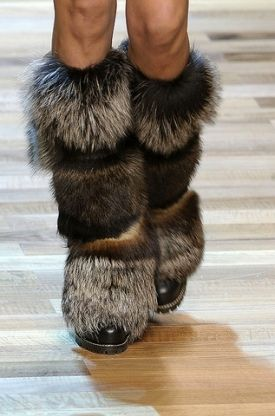 2011-2012 Winter Fashion Boot Styles | Furry boots, Fur boots .