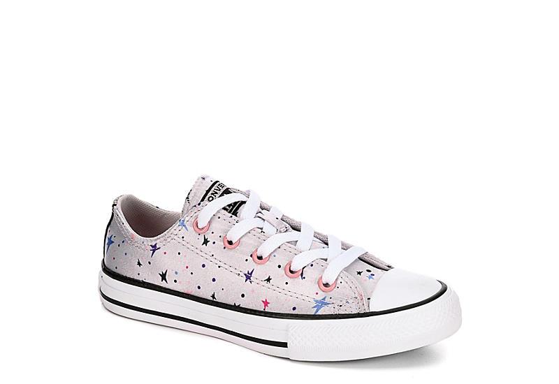 Grey Converse Girls Chuck Taylor All Star Gravity Ox | Girls .