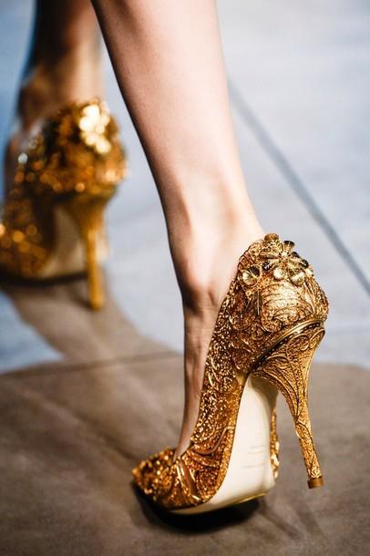 shoes, gold, high heels, gold high heels, golden heels, gold .