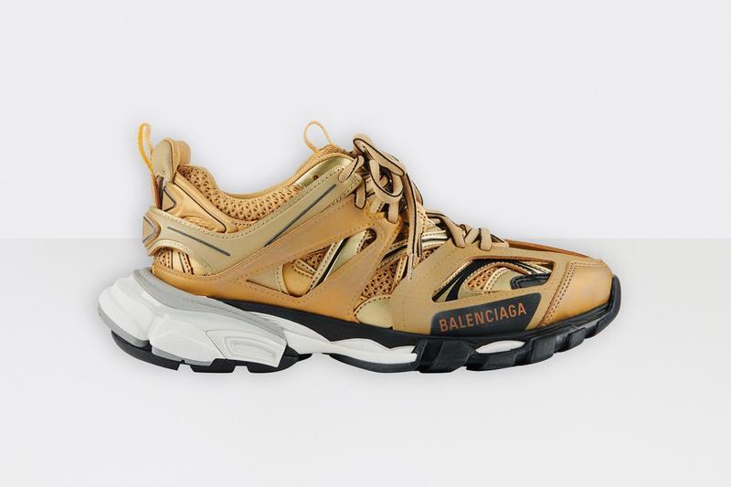 """Balenciaga Track.2 Sneaker """"Gold"""" Pricing Info   HYPEB"""