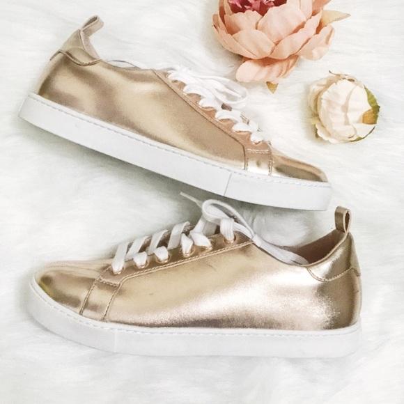 Aldo Shoes   Rose Gold Women Sneaker   Poshma