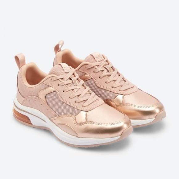 Aldo Shoes   Drandra Rose Gold Sneakers   Poshma
