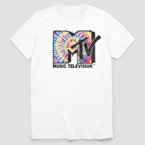 Men's MTV Short Sleeve Graphic T-Shirt White : Targ