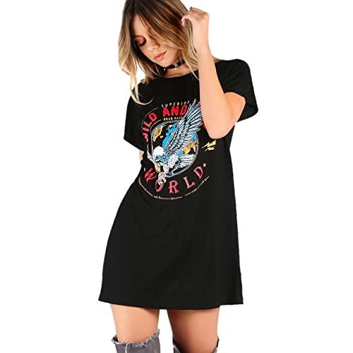 Graphic Tee Dress: Amazon.c