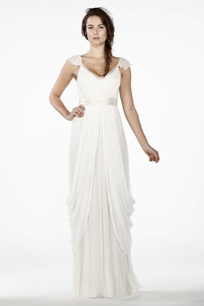 HB6365 Grecian Wedding Dress – Saja Weddi