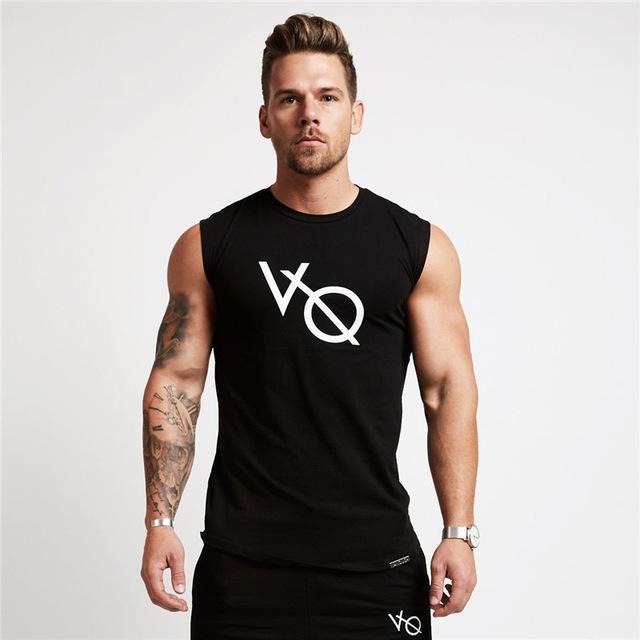Running Vests Jogging 2018 Fitness Men Tank Top Quick Dry .