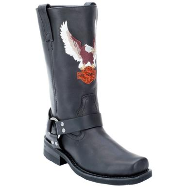 Harley Davidson Darren | Men's Casual Pull On Boots | Rogan's Sho