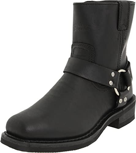 Amazon.com | Harley-Davidson Men's El Paso Riding Boot, Black, 12 .