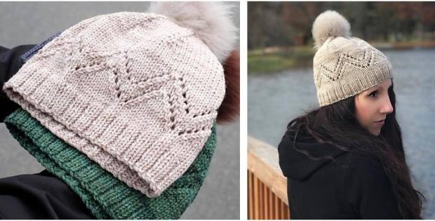 Pennyroyal Knitted Lace Hat [FREE Knitting Patter