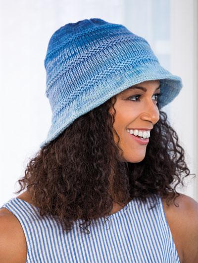 Hats & Gloves Knit Patterns - Bromley Bucket Hat Knit Patte